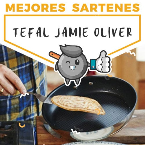 mejores-sartenes-itefal-jamie-oliver